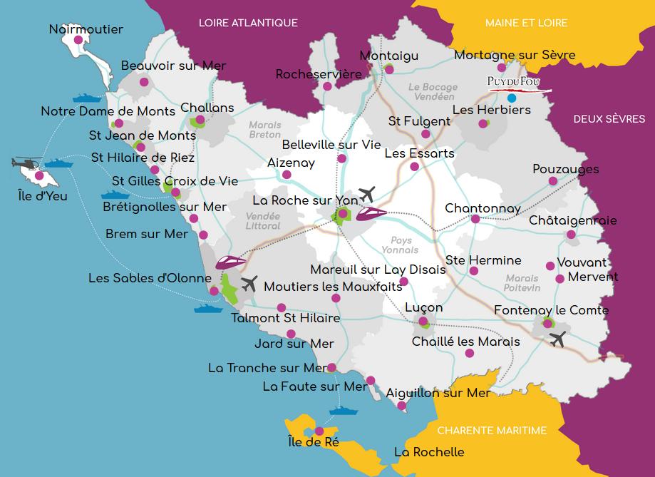Camping Vendee Campings   Portail et guide des campings de Vendée