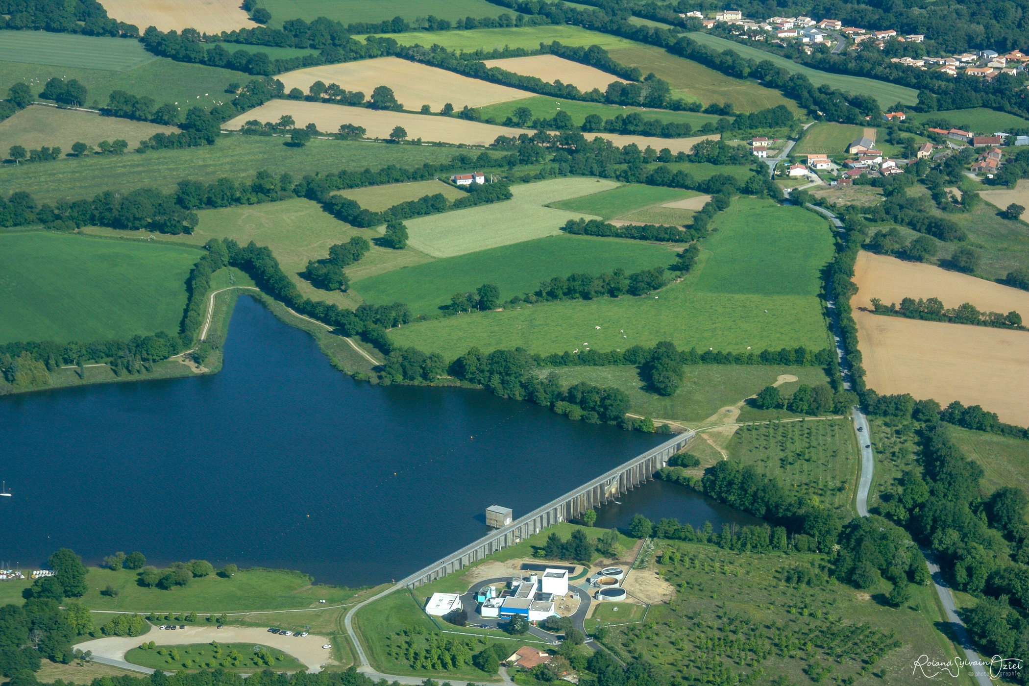 Barrage de Moulin Papon la Roche sur Yon