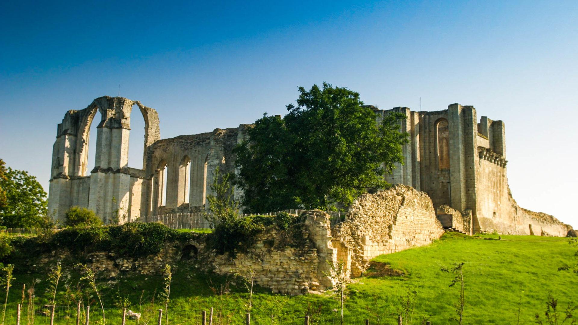L'Abbaye de Maillezais et ses vestiges exceptionnels