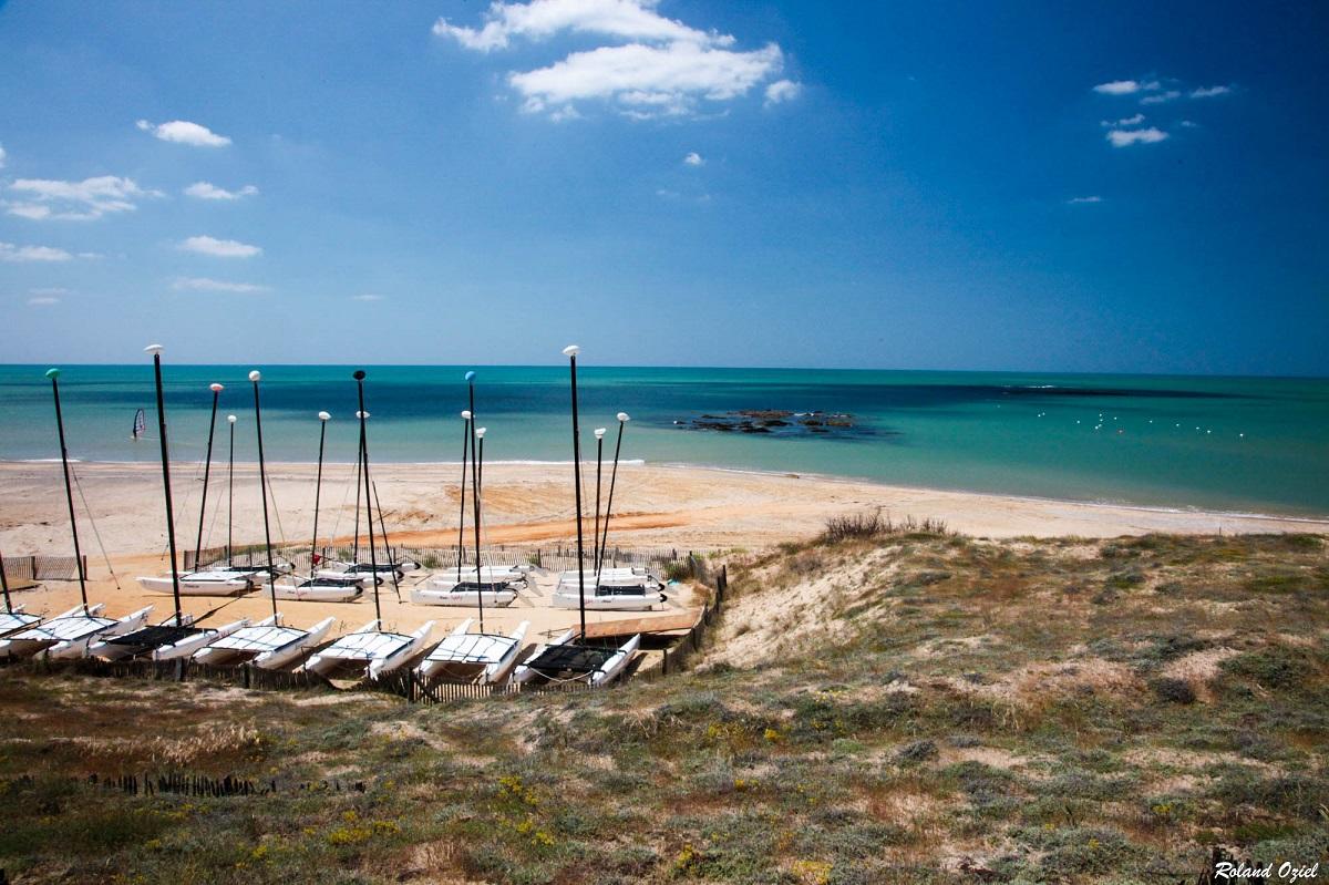activités nautiques à Brétignolles sur Mer
