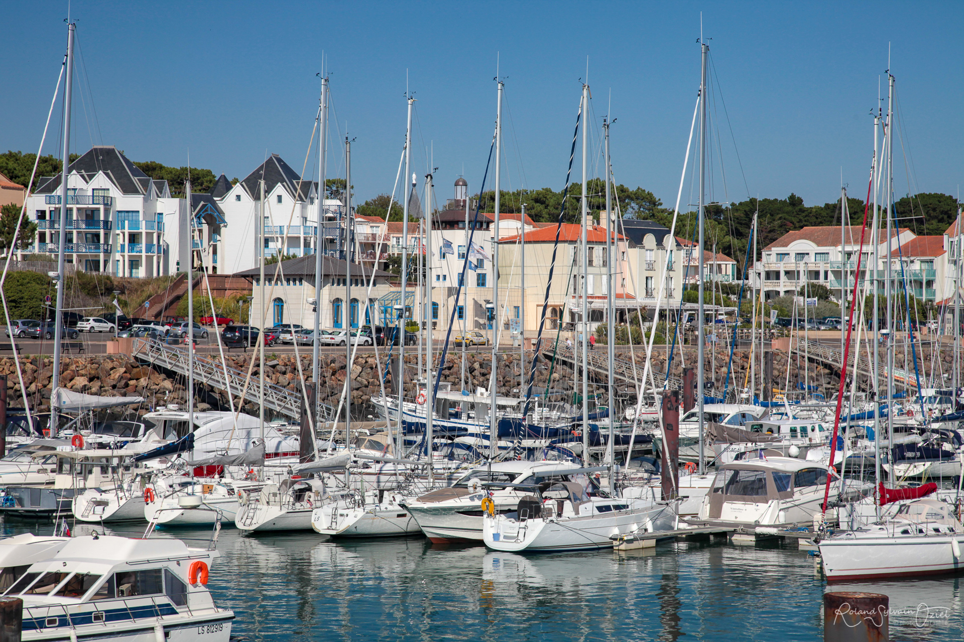 Port Bourgenay près du Veillon