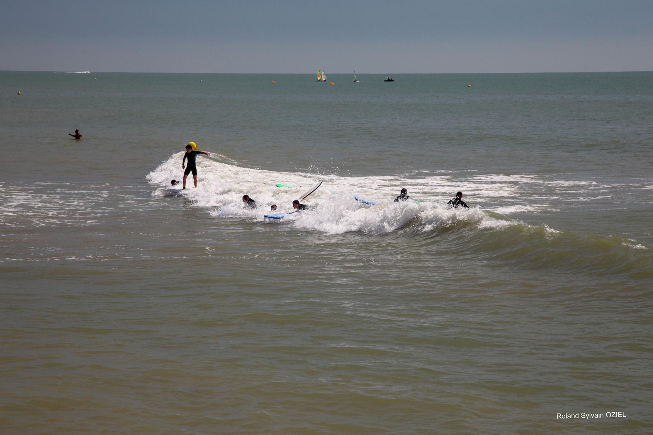 Spots de surf en Vendée