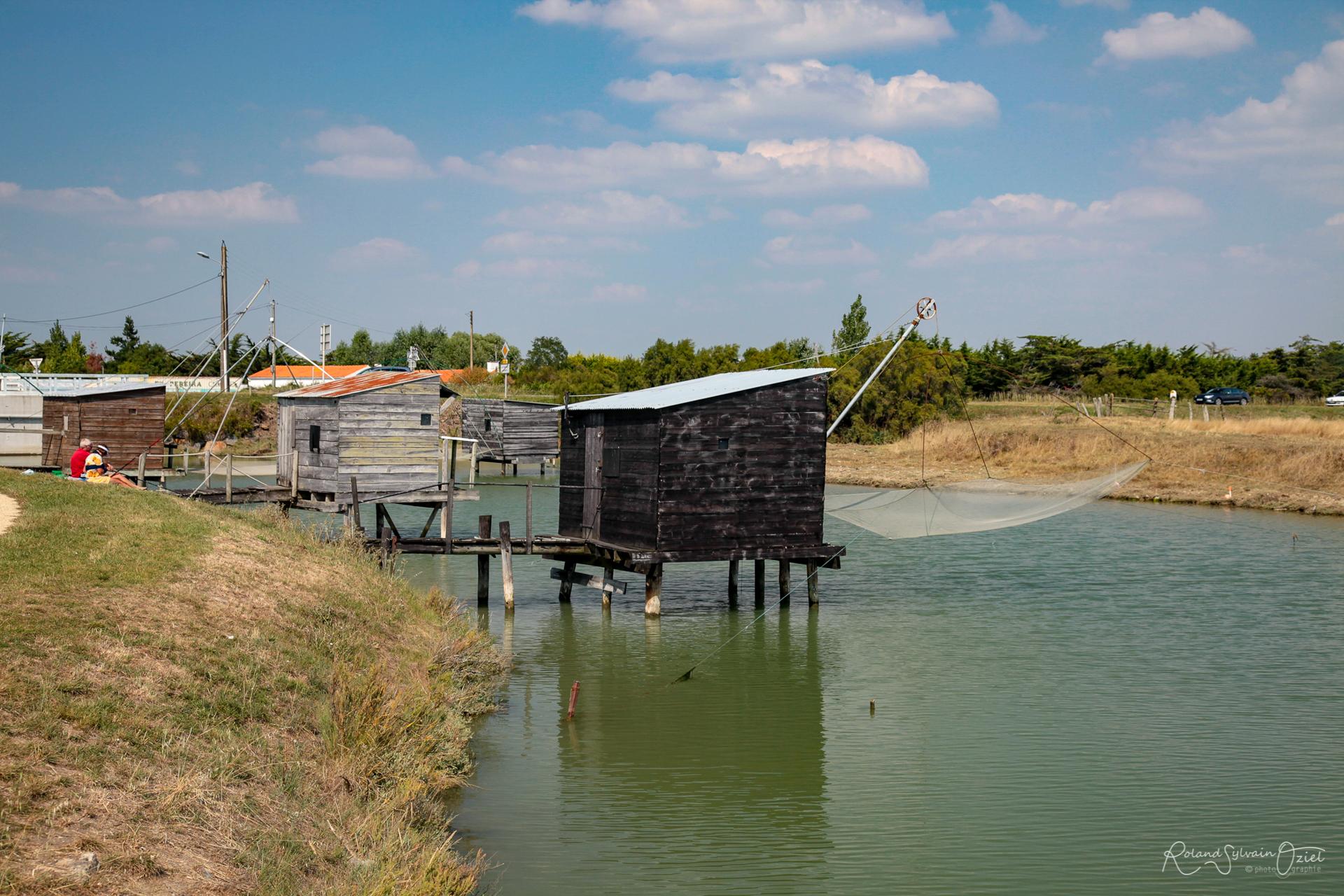 Cabane de pêche de la Barre de Monts