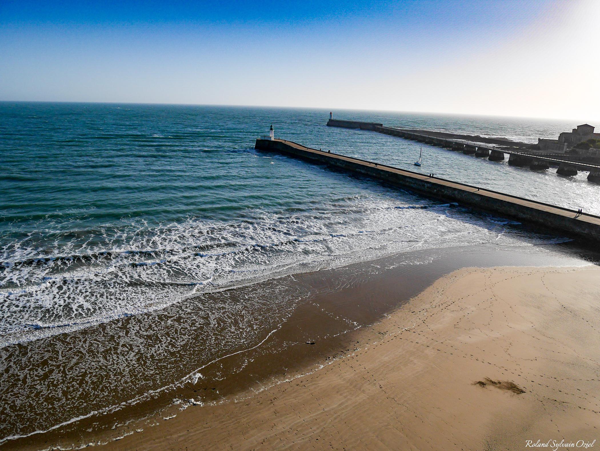 remblai des Sables d'Olonne et sa grande plage