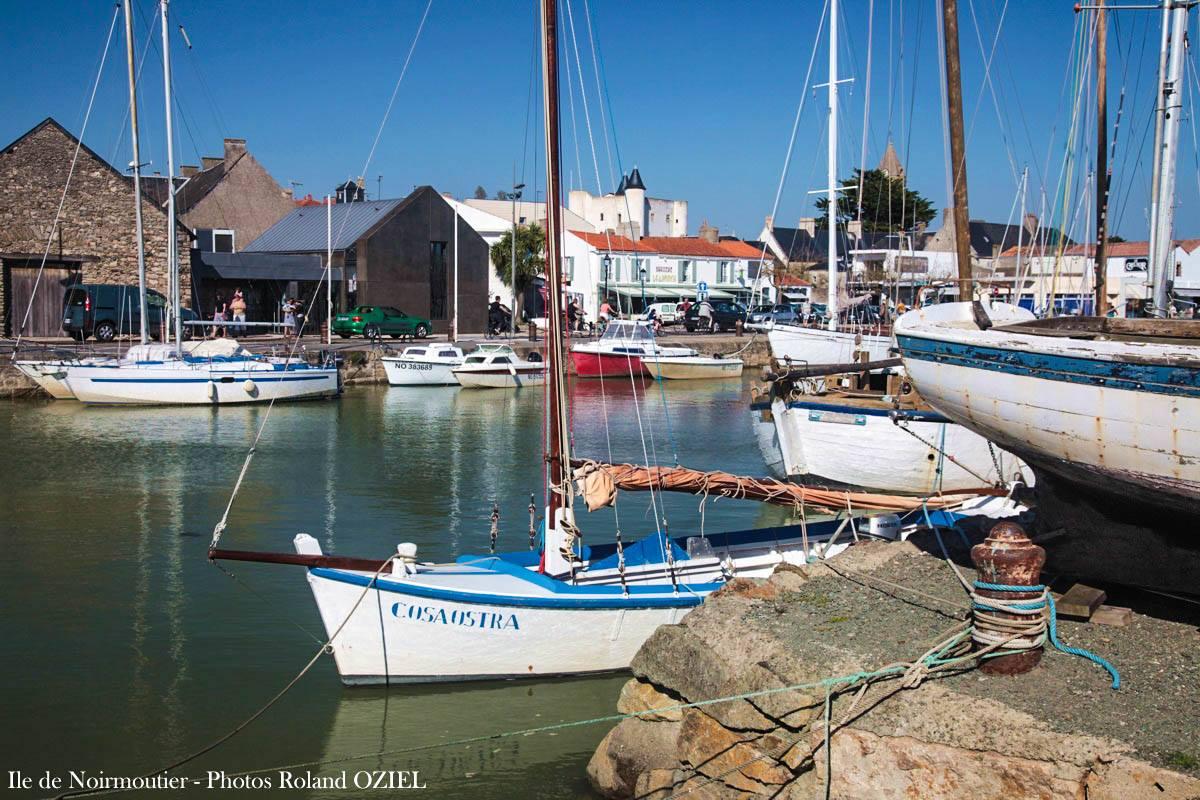 Ile de Noirmoutier plage et port