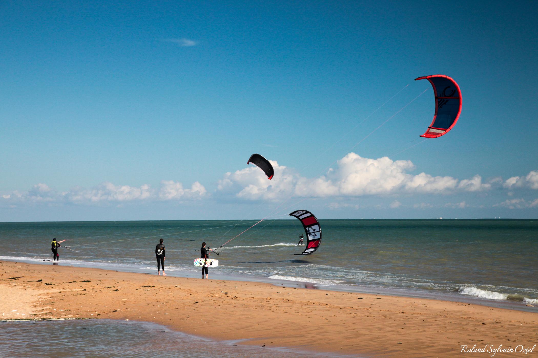 Le kite surf activité nautique praticable en Vendée à la Tranche sur Mer