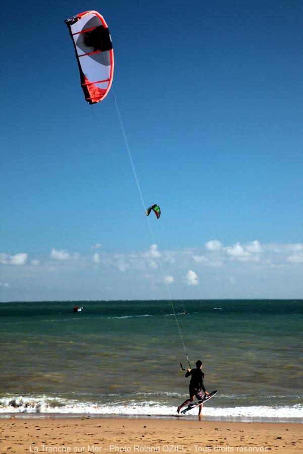En vacances en Vendée ou faire du kite-surf