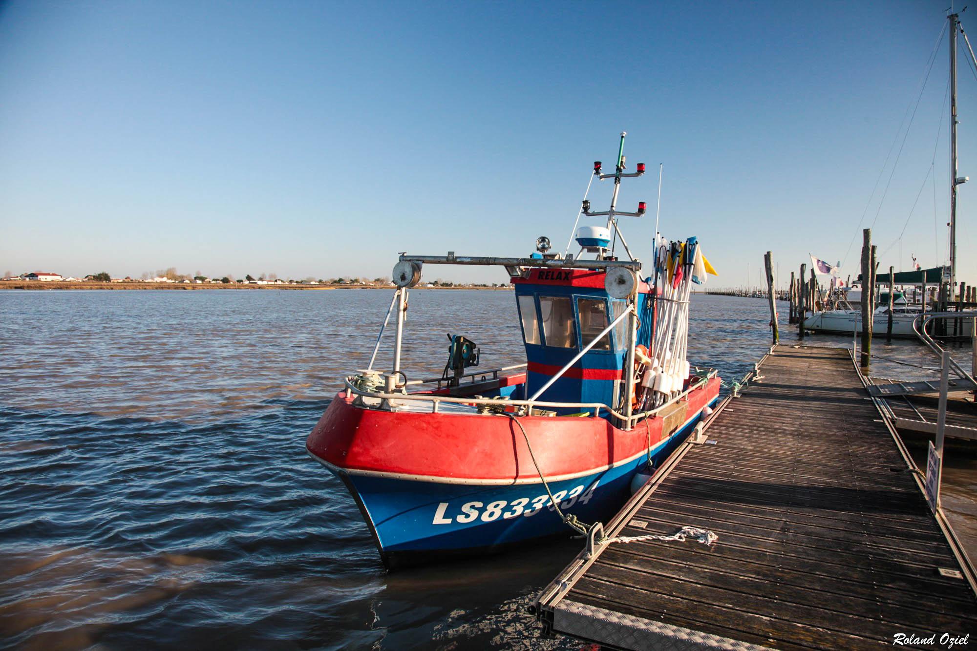 port de pêche de la Faute sur Mer