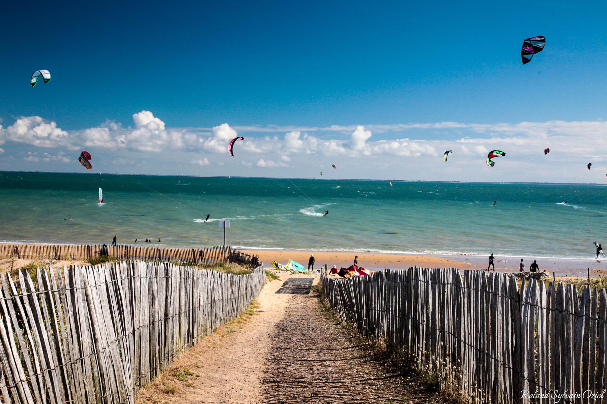 activités nautiques et plage en Vendée