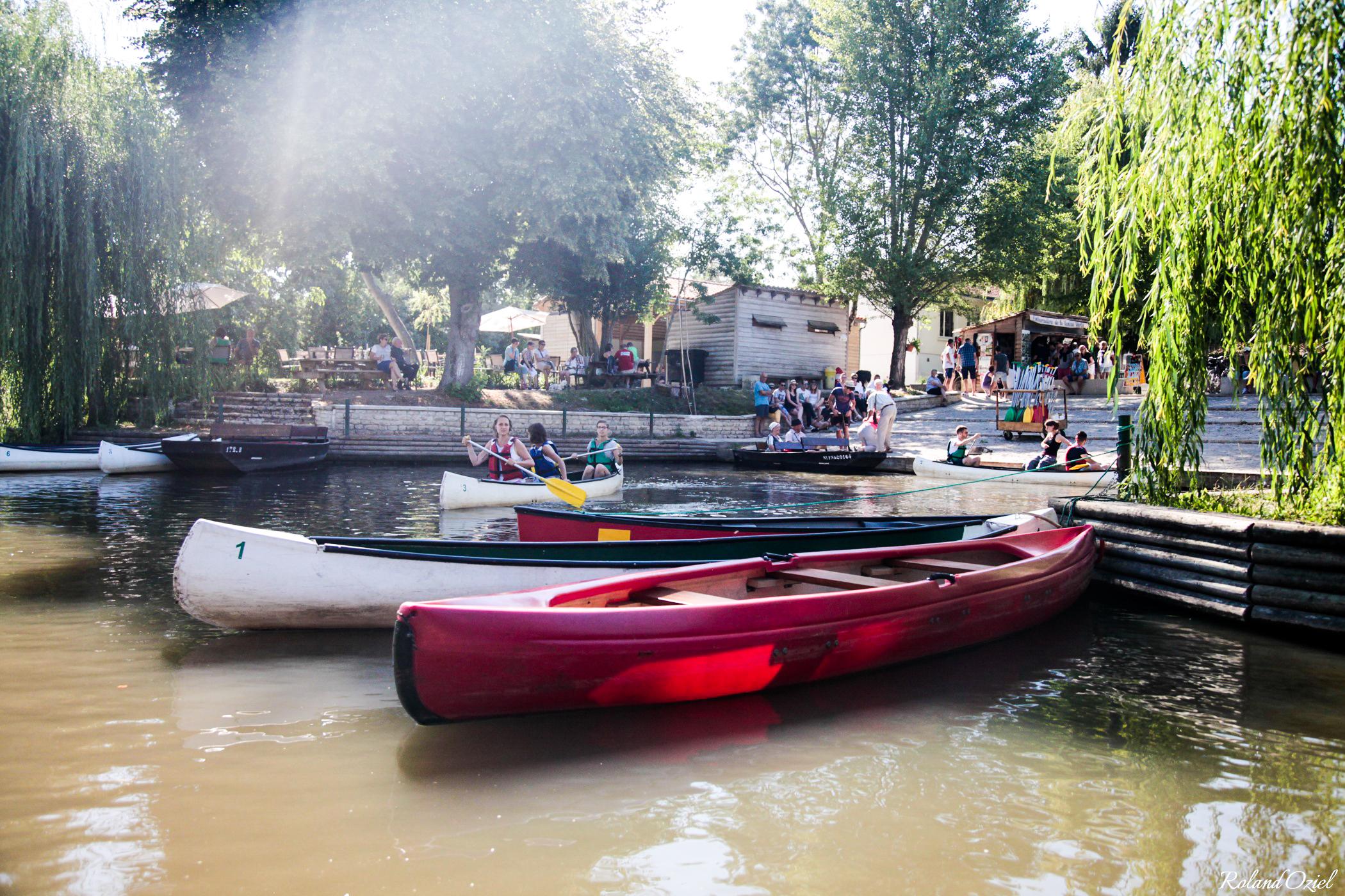 Canoé dans le Marais Poitevin