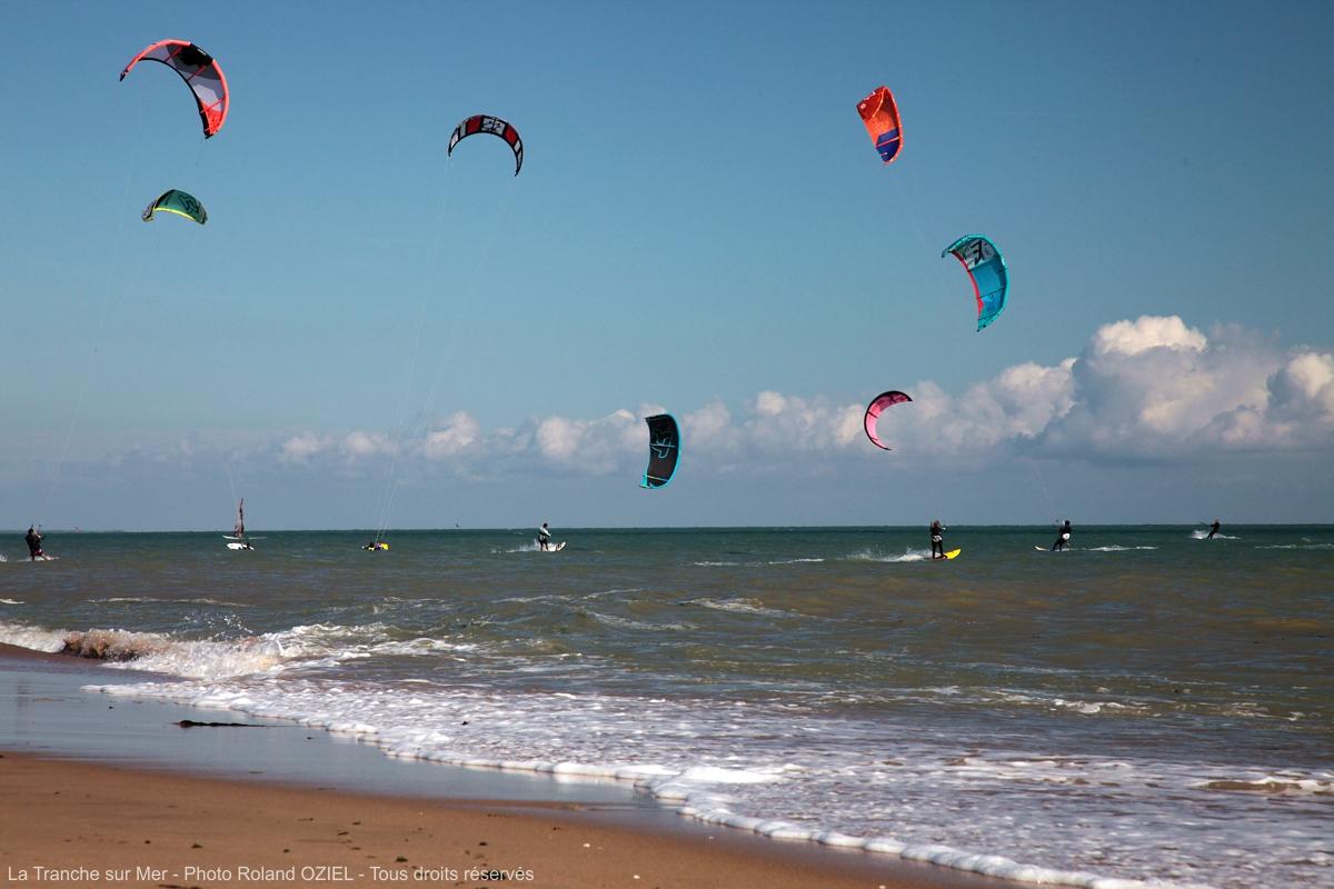 Où pratiquer le Kite-surf en Vendée ?