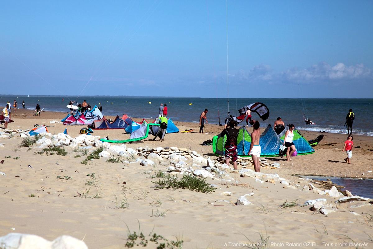 Où pratiquer le kite-surf en Vendée