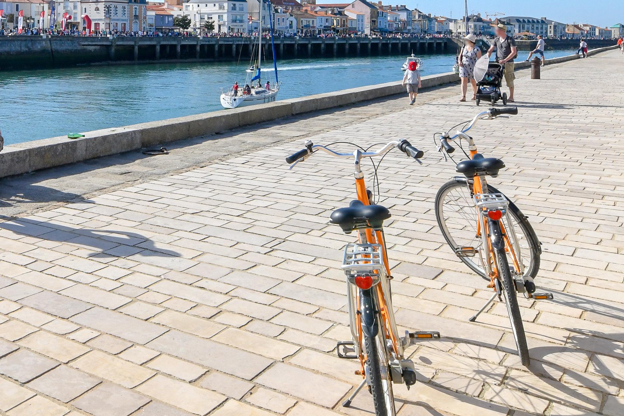 pistes cyclables les sables d'Olonne