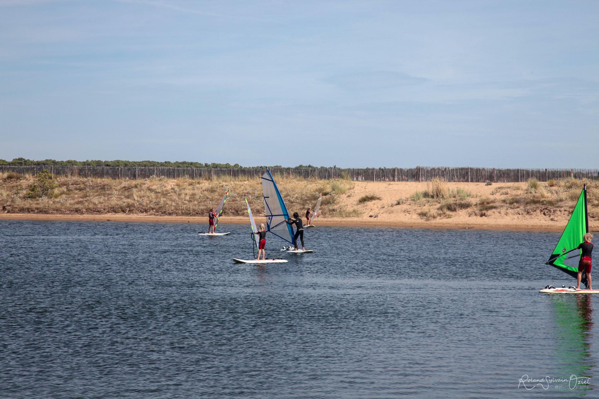 Apprendre à faire de la planche à voile en Vendée