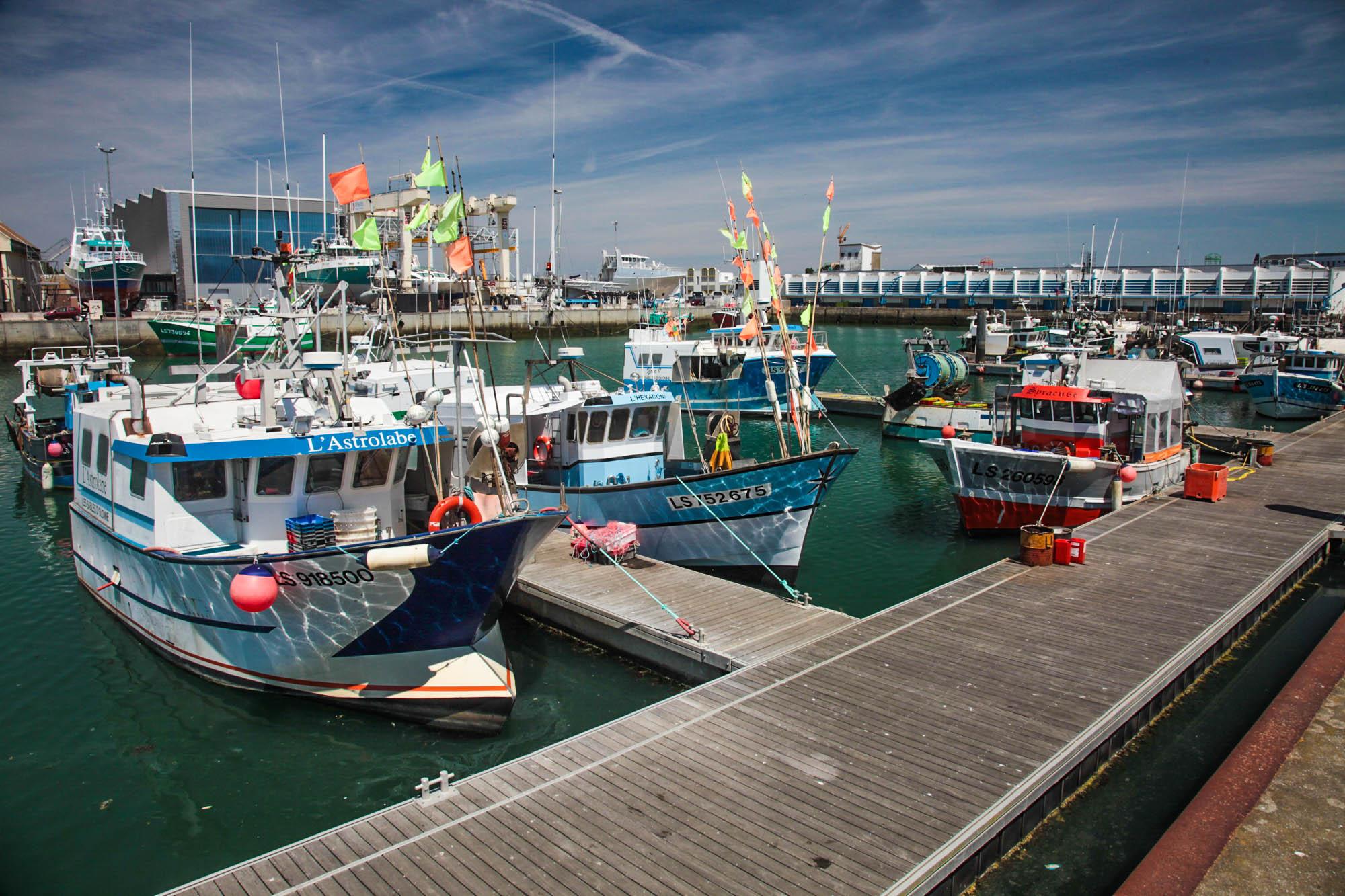 port des sables d'Olonne, activités nautiques