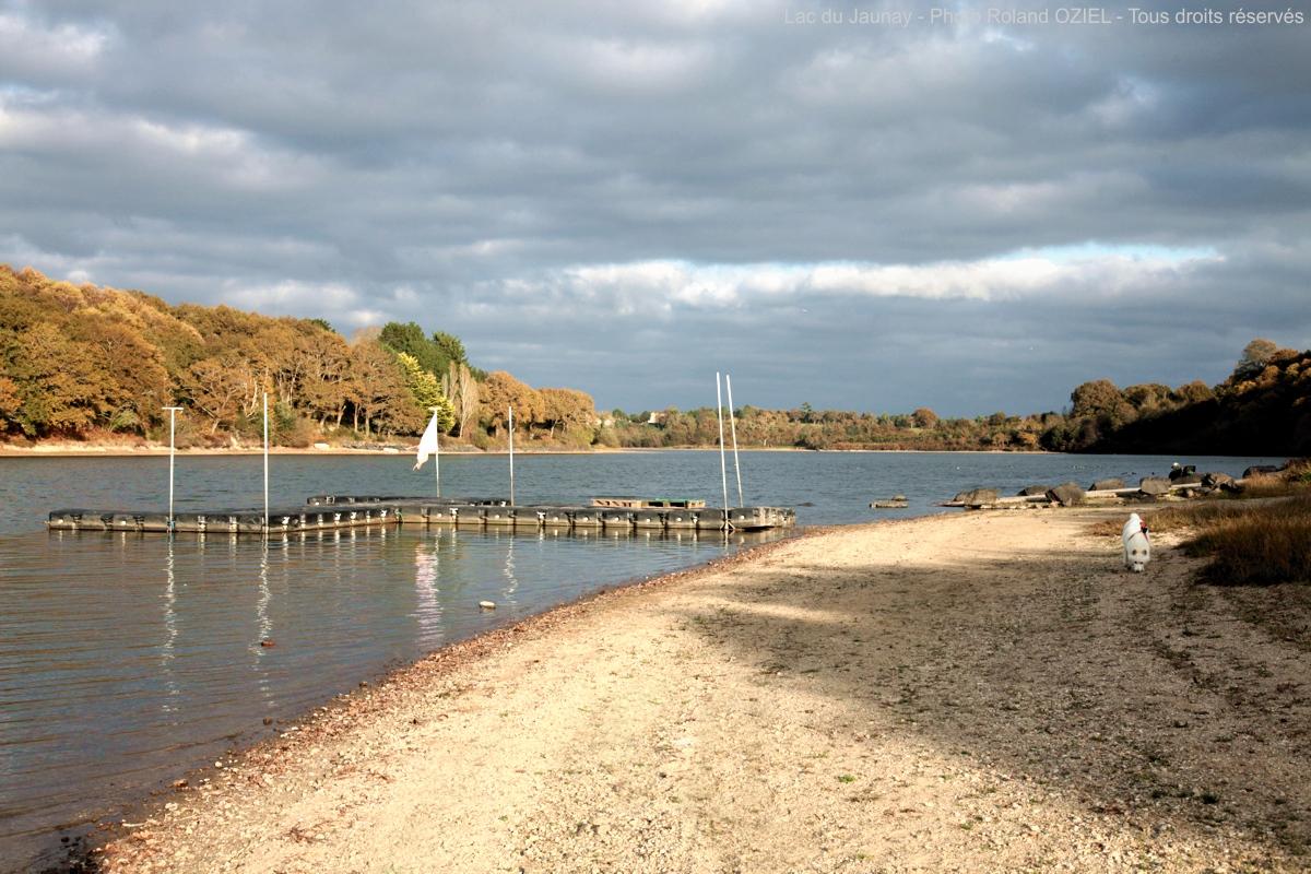 lac d'apremont en Vendée