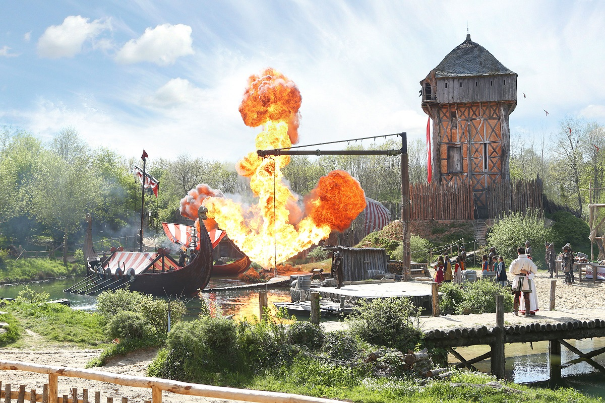 Grand spectacle au parc du Puy du Fou vendée