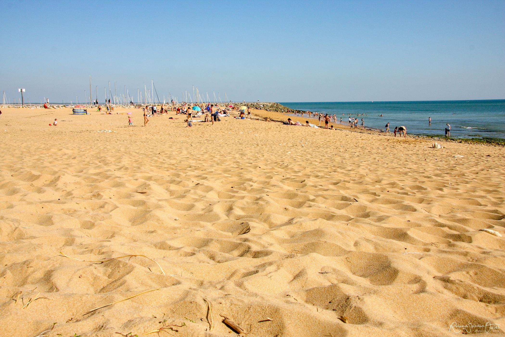 Photo de la plage canon de Jard sur Mer