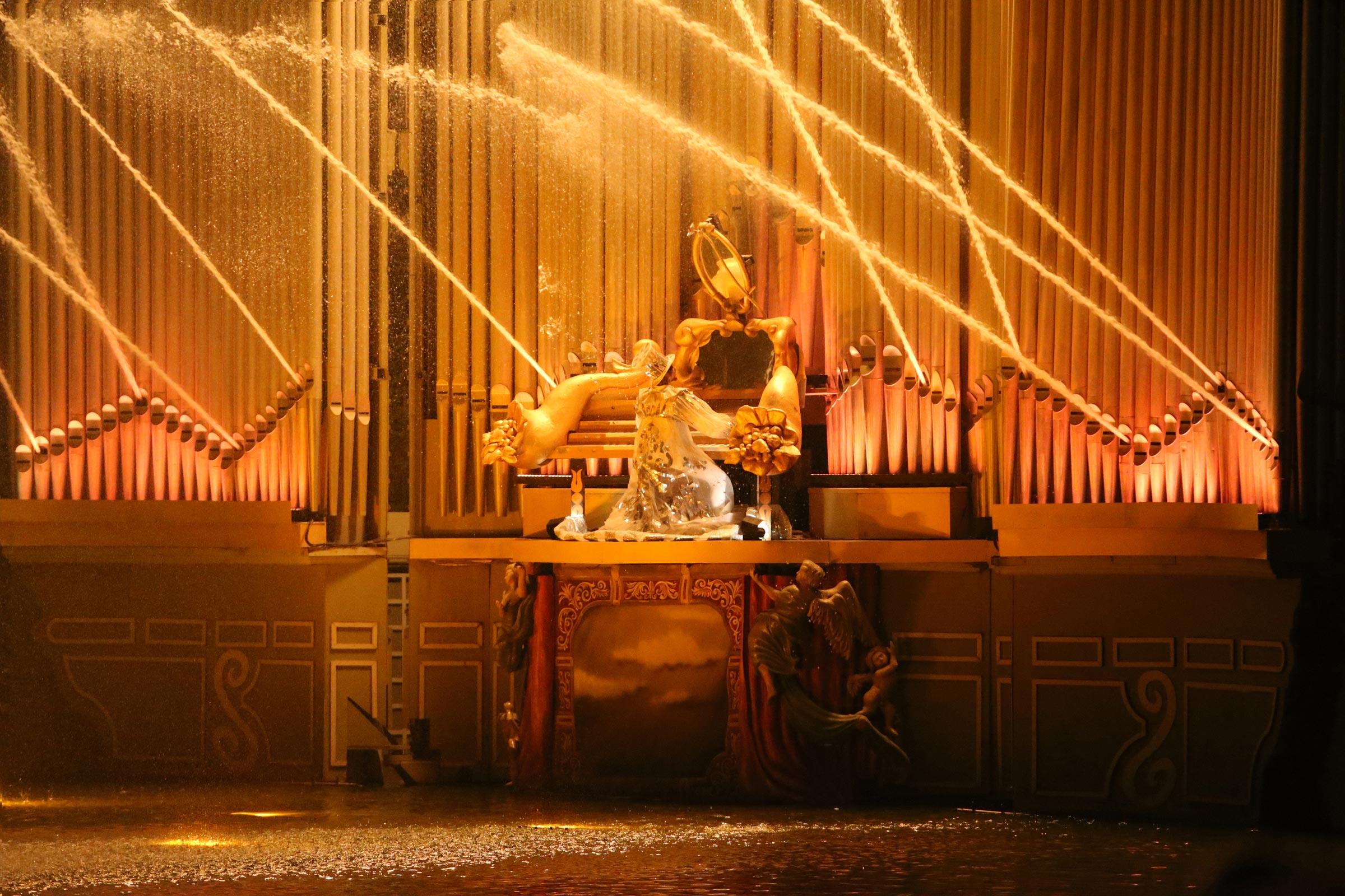 Les Orgues de Feu spectacle du Puy du Fou.
