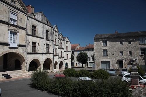 centre ville Fontenay-le-Comte