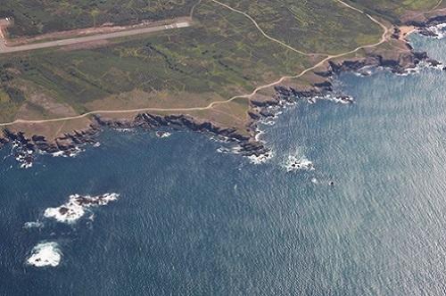 vue aérienne camping  Ile d'Yeu