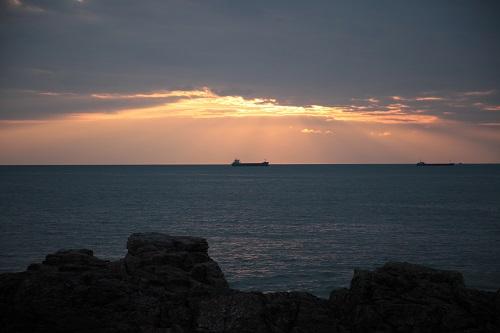 coucher soleil Olonne sur Mer