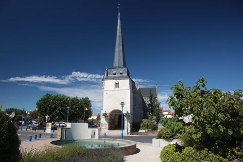 Eglise près de beauvoir sur mer