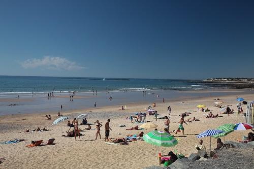 la plage brem-sur-mer