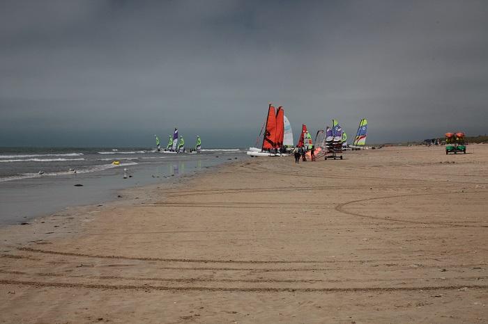 plage  St Jean de Monts près du camping