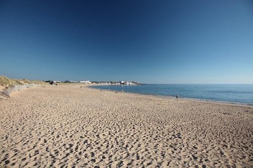 plage Saint Hilaire de Riez près des campings