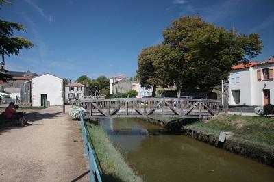 centre ville  Talmont Saint Hilaire
