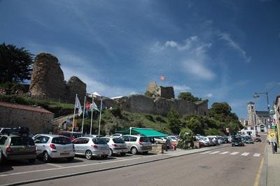 Talmont Saint Hilaire chateau