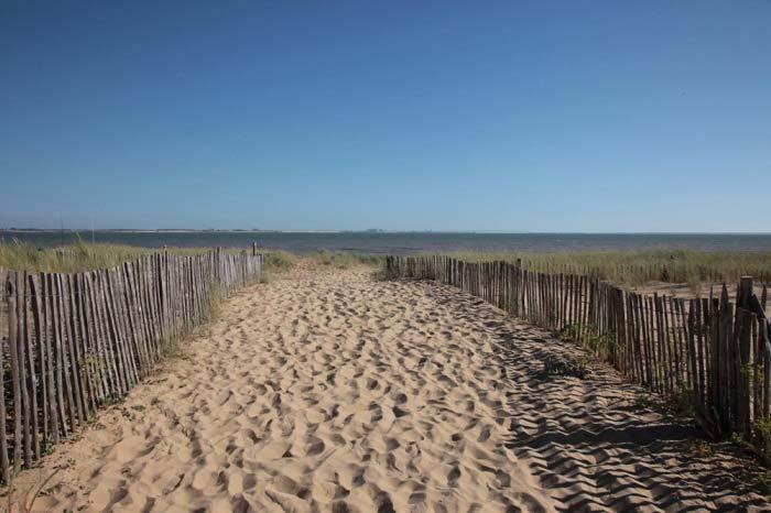 plage  l'Aiguillon sur mer