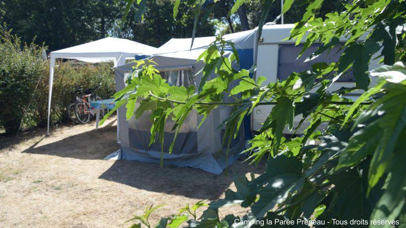 Location d'emplacement sur terrain de camping en Vendée