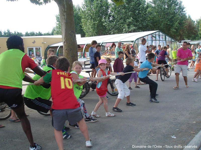 Clubs enfants et animations au sein des campings de Vendée