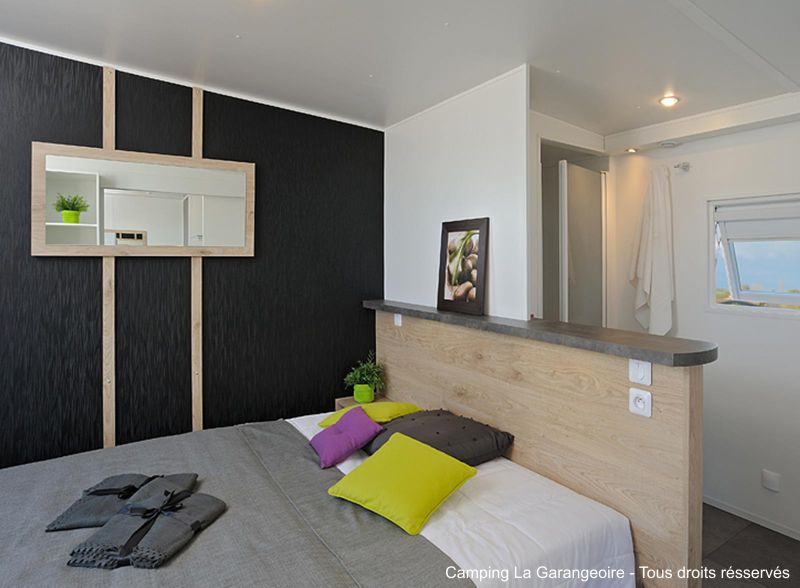 Camping proposant des locations haut de gamme en mobil-home