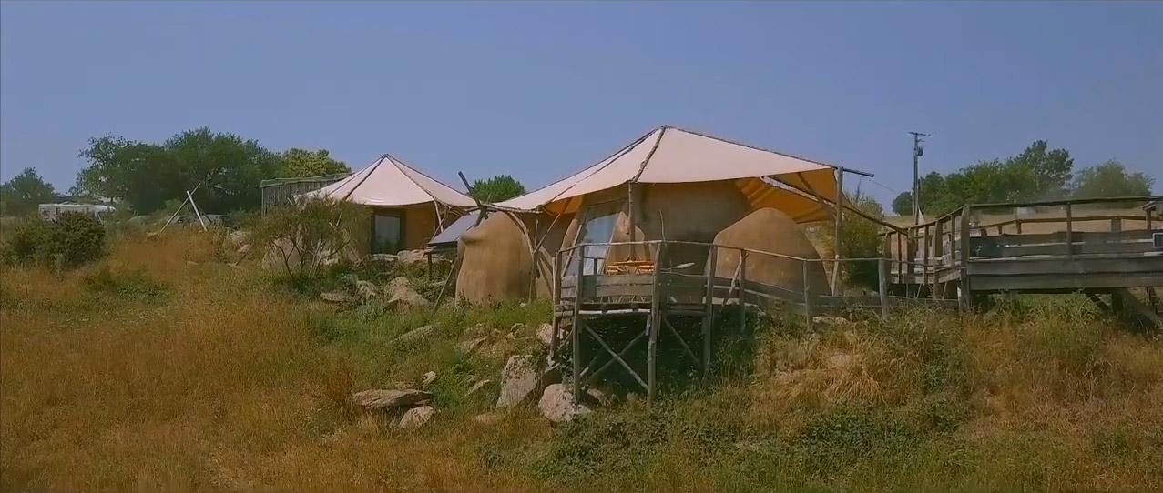les tentes lodge, hébergements insolites en Vendée