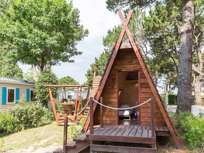 Camping Hébergements insolites en Vendée