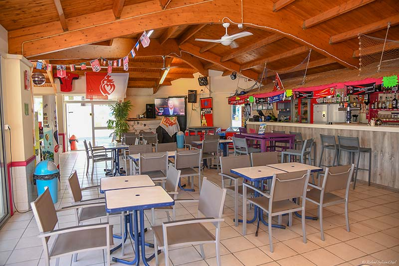 Camping Snack-bar en Vendée