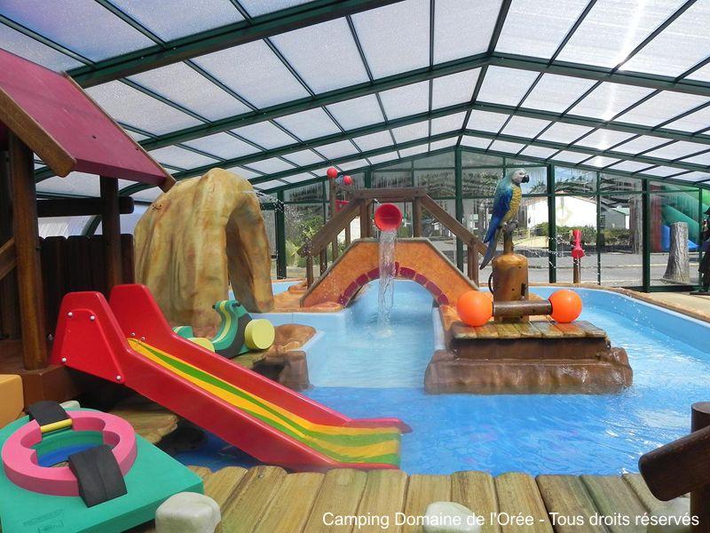 Camping avec pataugeoire ludique en Vendée