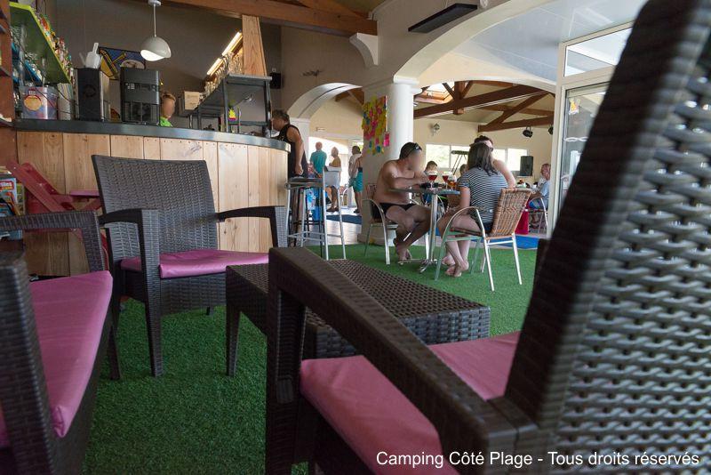 le snack-bar restaurant du camping