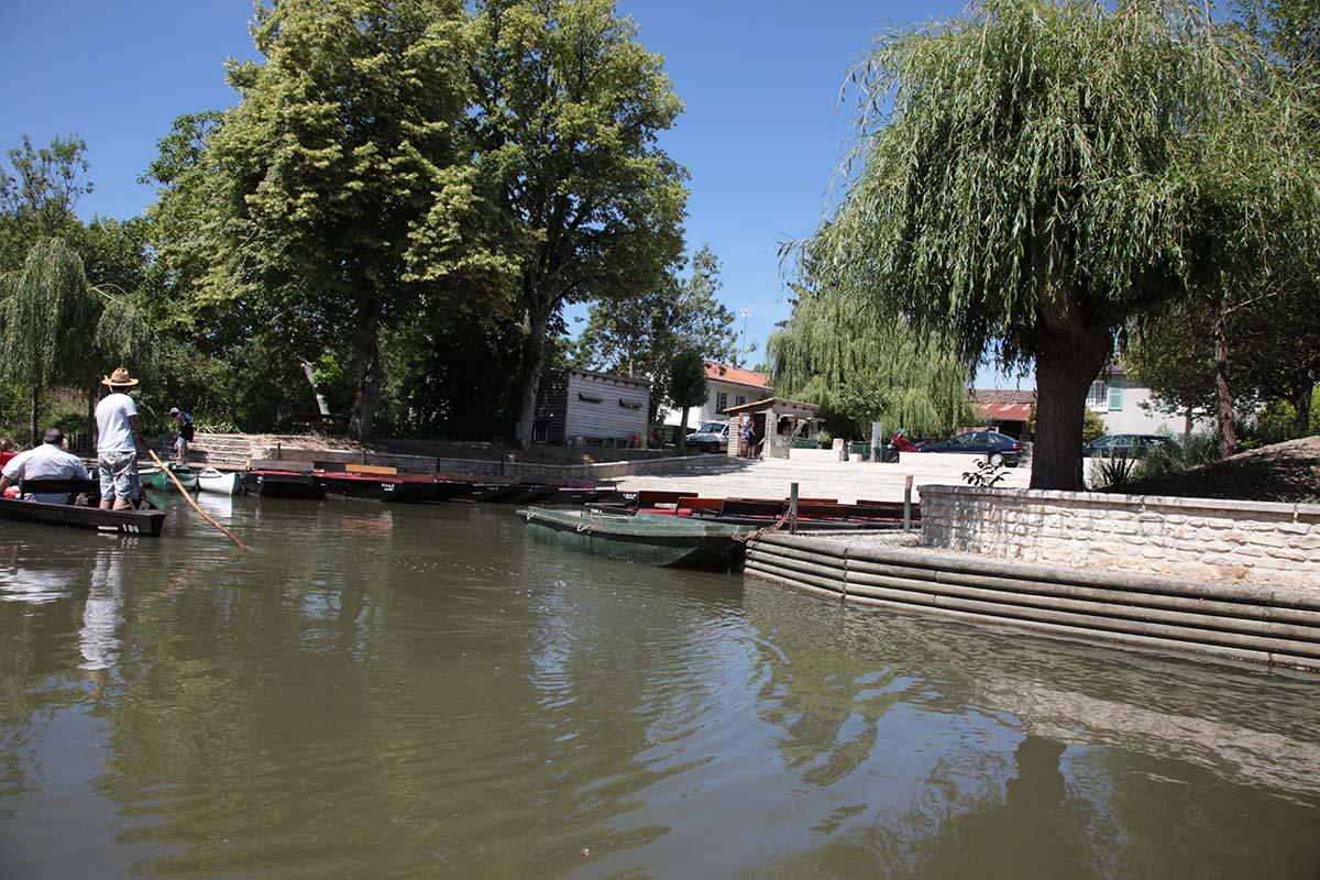 Les villages du Marais Poitevin : Arçais